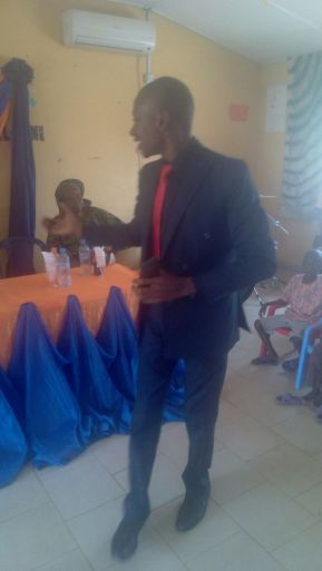 Ogunbowale Olugbenga during his speech